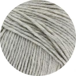 Lana Grossa Cool Wool Big 616 - Hellgrau meliert