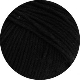 Lana Grossa Cool Wool Big 627 - Schwarz