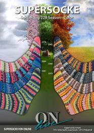 ONline Supersocke Sort. 228 Season-Color 100g