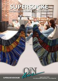 ONline Supersocke Sort. 261 Family Socks Color 225g