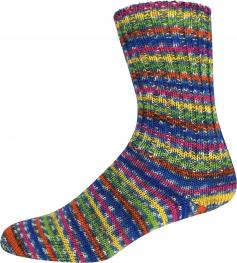 ONline Supersocke Sort. 283 Norweger Color 100g 2462 - bunt