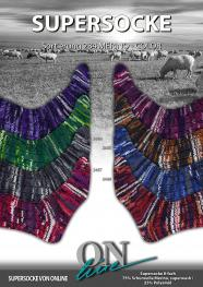 ONline Supersocke 8-fach 150g Sort. 284 Merino Color