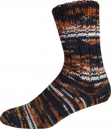 ONline Supersocke 8-fach 150g Sort. 284 Merino Color 2464 - braun