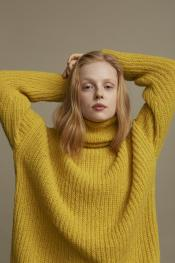 Utterly Okay (Pullover) aus WOOLADDICTS Water