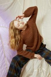 Pullover (I) aus Mohair Luxe
