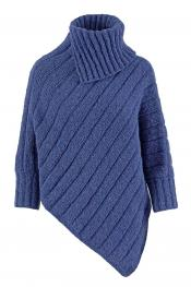 Poncho Nauti Girl aus WOOLADDICTS Air