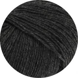 Lana Grossa Cool Wool Baby 205 - Anthrazit