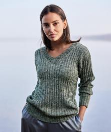 Pullover aus Allora Hand-Dyed
