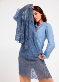 Tuch aus Cool Wool Lace