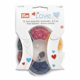 PRYM Love Color Snaps Mini - SET