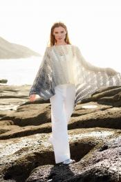 Poncho-Top aus Twisted Summer Shades
