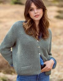 Cardigan aus Cool Wool Cashmere