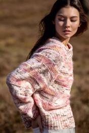 Pullover aus Cool Wool/Silkhair (Hand-Dyed)