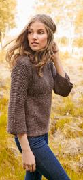 Pullover aus Slow Wool Canapa