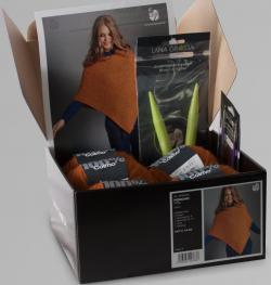 Modellpaket - Poncho in Colmo Orange