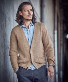 Jacke aus Cool Wool Cashmere