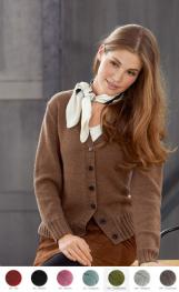Cardigan aus Cool Wool (Melange)