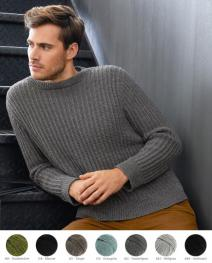 Herrenpullover aus Cool Wool (Melange)