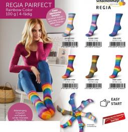 REGIA Pairfect Rainbow Color