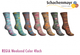 REGIA 4-fach Weekend Color
