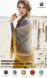 Dreieckstuch aus Shades of Cotton Linen
