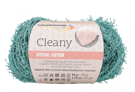 Schachenmayr CLEANY 169 - petrol