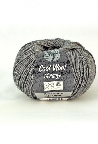 Lana Grossa Cool Wool 412 - Dunkelgrau