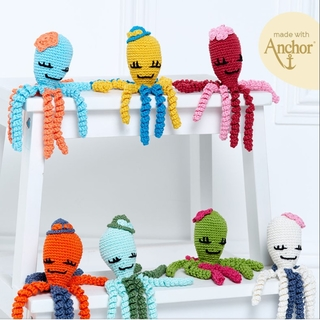 "ANCHOR Crochet Kit ""The Colors of emotion"""