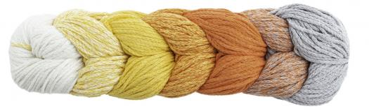 Woolly Hugs ROPE PLAIT 250g 185 - gelb