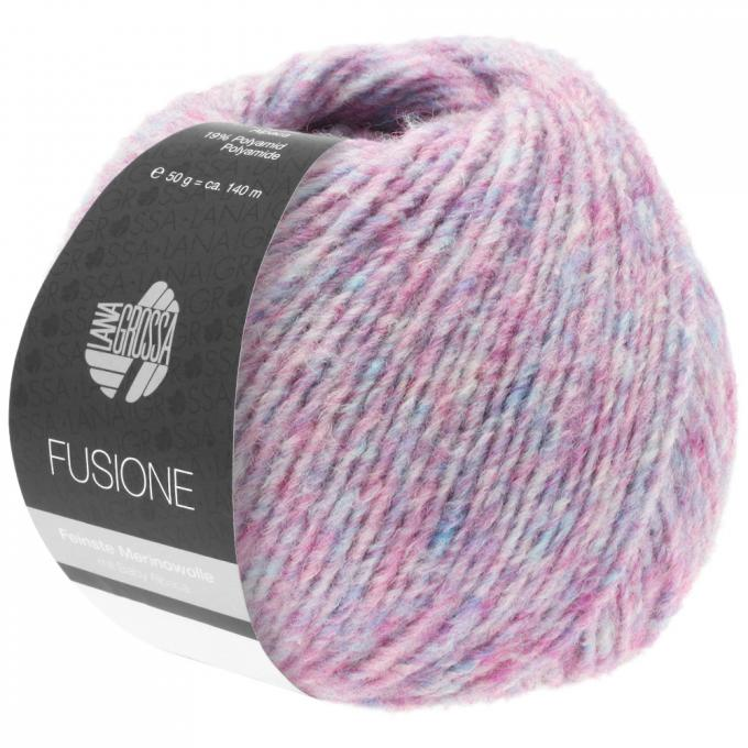 Lana Grossa Inside Wolle 50g Farbe 10 Mauve//Pink//Türkisblau//Gelbgrün