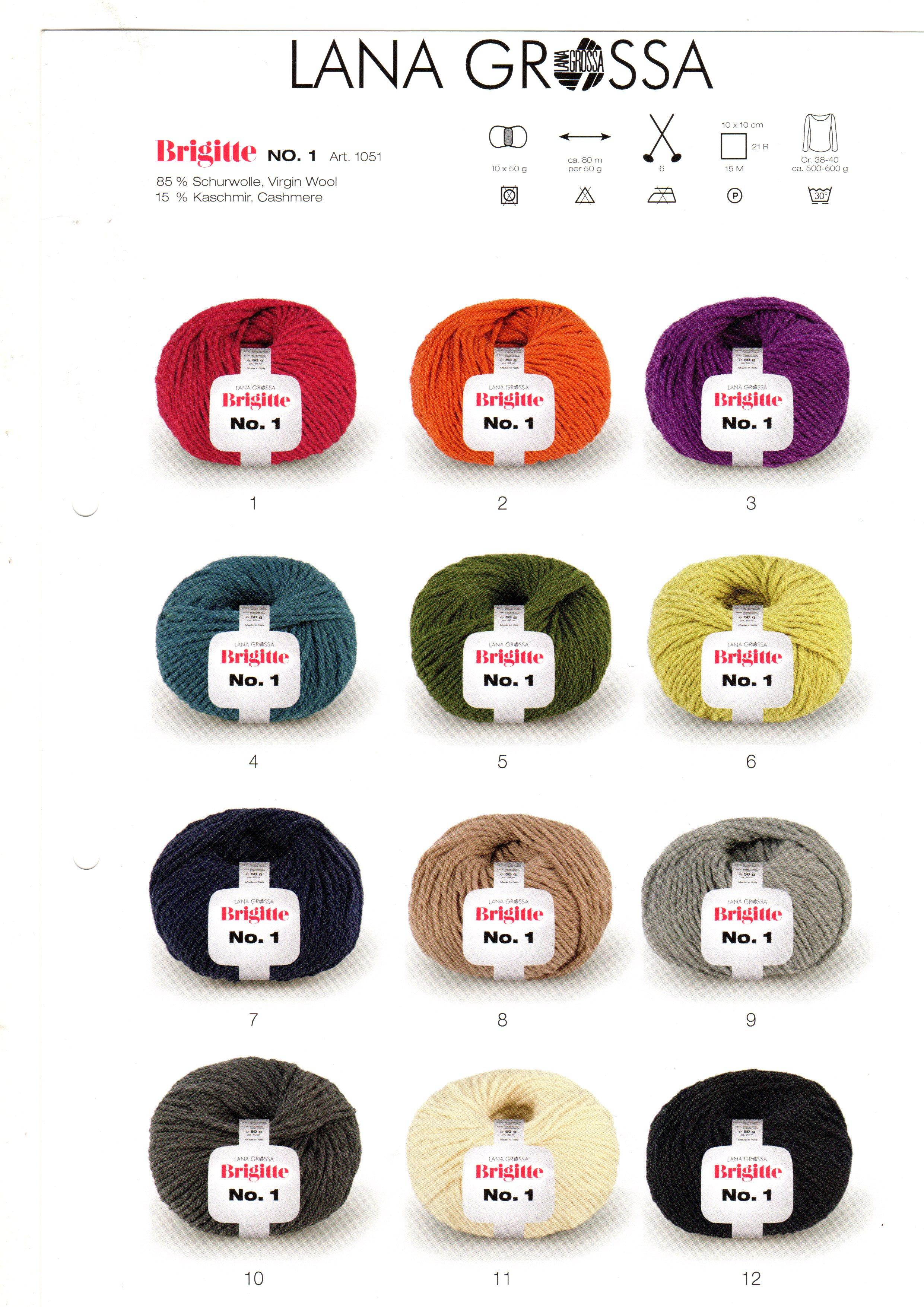 Brigitte no 1 lana grossa online shop for Brigitte versand deutschland