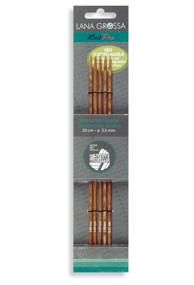 6,5mm Lana Grossa Nadelspiel Design-Holz 20cm